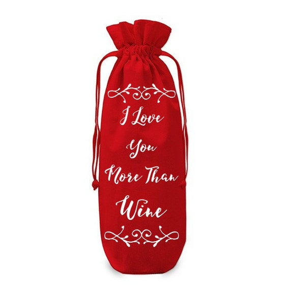 the perfect gift for your loved one this valentines day a gift bag declaring you love them more than its