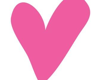 Pink Heart,  Digital Format