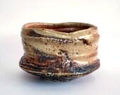 Wood fired Shino Tea Bowl