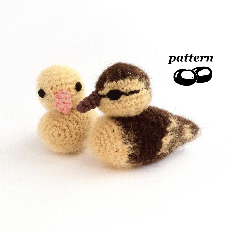 Duckling Crochet Pattern Crochet Duckling Pattern Chick