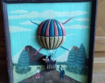Air Balloon Folkart