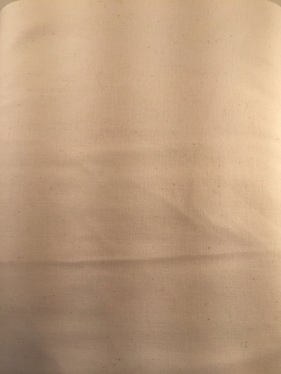 "Unbleached Muslin 108"" Wideback Fabric"