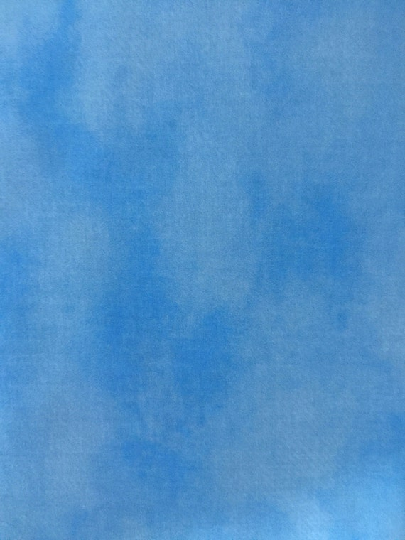 Sky Blue Cotton Quilting Fabric