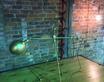 Brass tripod table or desk light