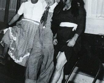 Guys Will Be Gals Crossdressing Vintage Photo