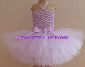 Lavender Tutu Dress Extra fluffy, Toddler Tutu Dresses Lavender