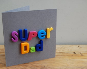 Super Dad card - Father's day card