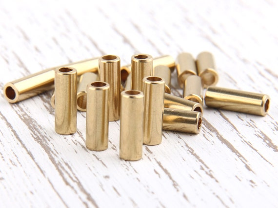 Raw brass circular tube spacer spacers industrial