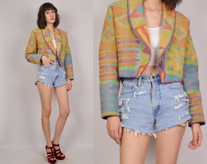 Southwest Hipster Jacket Cropped