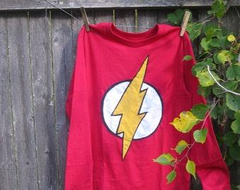 The Flash Superheroes Kids T shirt Halloween Superheroes