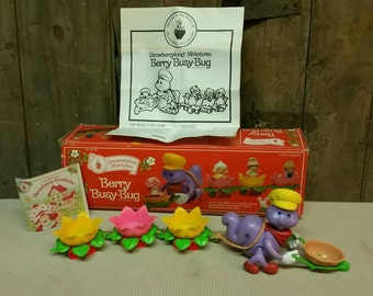 Strawberry shortcake berry busy bug  Kenner 1980s