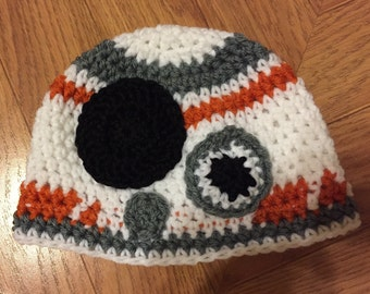 BB-Droid crochet hat