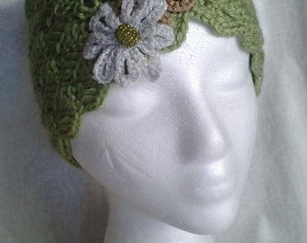 Pistachio Green Crochet Hat