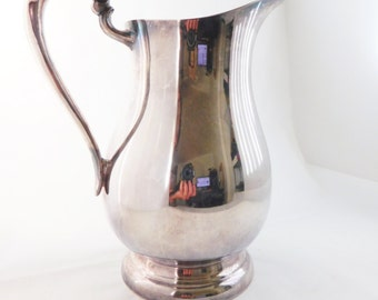 FB Rogers, Vintage Silver Plated Water Pitcher