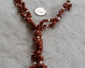 Stunning Sun Sitra N Fresh Water Pearl Necklace-N1180