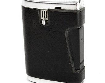 Vintage 1960's Ronson Comet Varaflame Pocket Cigarette Lighter with Gift Box