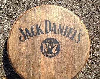 Jack Daniels Tennessee whiskey barrel top