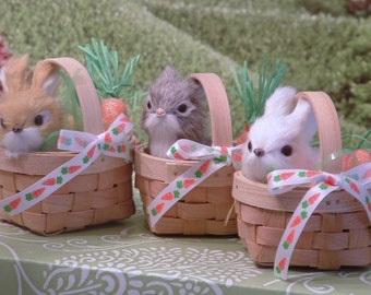 Bunny in a Basket for American Girl Dolls