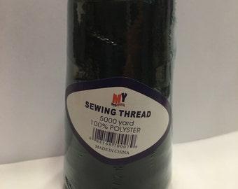 5000 yards of black cone thread (R6)