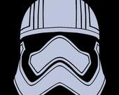 Star Wars' Captain Phasma helmet