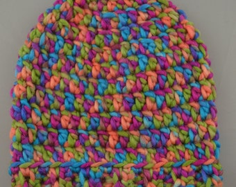 Children's Crochet Slouch Beanie - 2 styles to choose from!