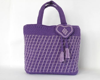 "Crochet bag PDF pattern ""Fantasia"""