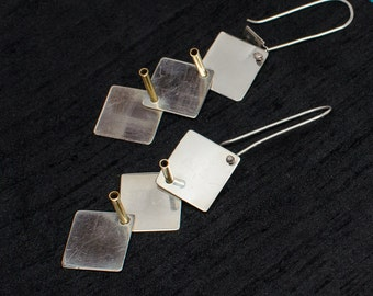 Sterling Silver Drop Earings