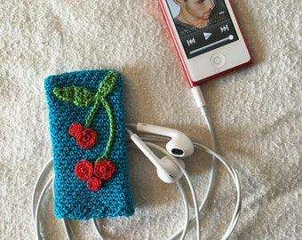 iPod Nano Crochet Sleeve Cover/Case