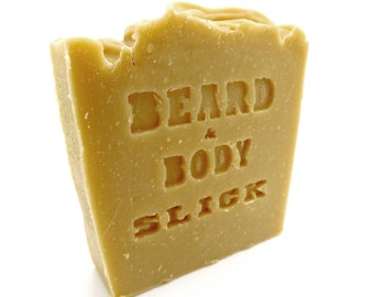 Beard and Body Soap Slick by Honest Amish
