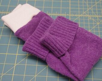 Wool Longy Wool Longies size 0-6 months, wool pants, wool diaper cover, recycled lambs wool blend