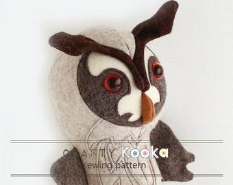 Stuffed owl pattern,  plush sewing pattern tutorials, Owl sewing pattern - instant download pdf pattern - sewing projects