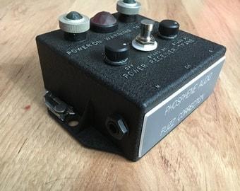 Phosphene Audio Fuzz Correction in old Navy radio enclosure