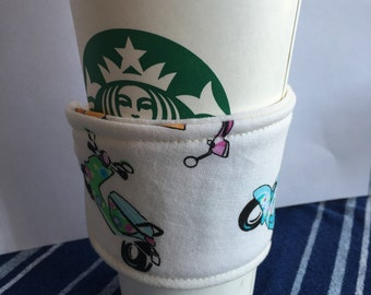 Scooter Reusable Coffee Cozy