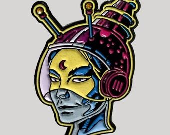 Astro Witch Enamel Pin