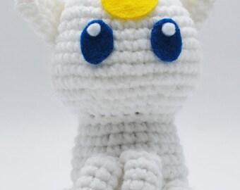 Crochet Sailor Moon Luna/Artemis