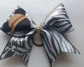 Mickey Inspired Safari Cheer Bow