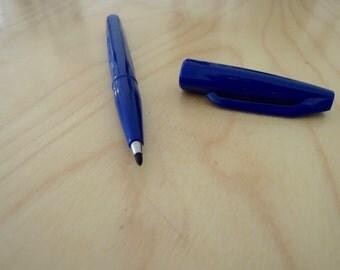 BLUE Sign Pen Pentel Marker x 1