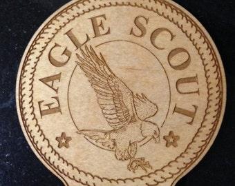 Eagle Scout Ornament Laser Engraved