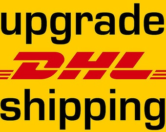 Upgrade to DHL express Shipping