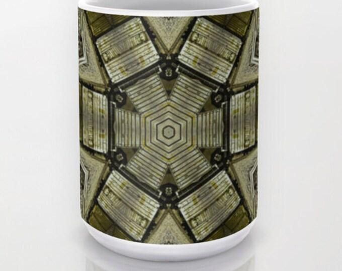 Crossroads Ceramic Mug, Coffee Mug, Tea Mug, Photo Mug, Unique Mug, Photography