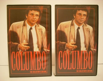 2 Columbo VHS Tapes