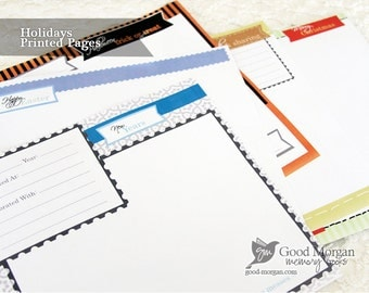 Holiday Pack - Printed Pages