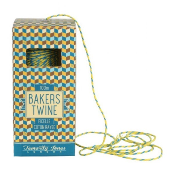 Basket Weaving Osi : Blue yellow m bakers twine string from