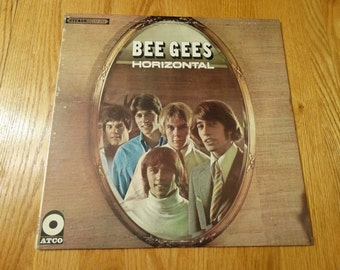 Vintage 1968 Bee Gees Horizontal Vinyl Record Album World And the Sun Will Shine Lemons Never Forget Massachusetts Harry Braff