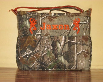 Made To Order Realtree Camo Diaper Bag With Free Embroidery