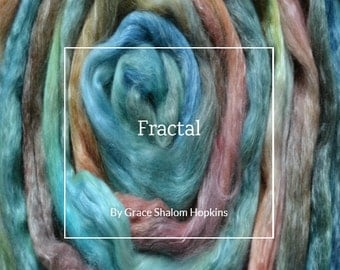 Fractal - Combed Top and Roving Spinning Fiber Tutorial - Handspun Yarn Tutorial