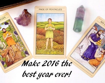 2016 New Year Tarot Card Reading ~ Guidance Tarot Reading ~ Psychic Reading ~ Intuitive Tarot Reading ~ Future Reading ~ Good Luck Reading