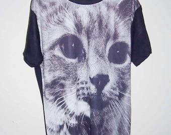 Fishing Cat Tiger T-Shirt Tiger Shirt Animal T-Shirt Men Tee T-Shirt T Shirts Shirts M L