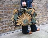 Vintage Tapestry Bag - Weekender Travel Bag