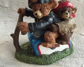 "RESERVED SUSAN (1) Collectible Harley Davidson ""Little Cruisers"" Bear Figurine"